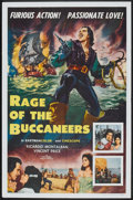 "Movie Posters:Adventure, Rage of the Buccaneers (Colorama, 1963). One Sheet (27"" X 41"").Adventure.. ..."