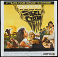 "Movie Posters:War, The Steel Claw (Warner Brothers, 1961). Six Sheet (81"" X 81"").War.. ..."