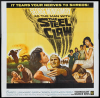 "The Steel Claw (Warner Brothers, 1961). Six Sheet (81"" X 81""). War"
