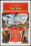 "Movie Posters:Historical Drama, The Ten Commandments (Paramount, 1956). One Sheet (27"" X 41"") StyleA. Historical Drama.. ..."