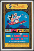 "Movie Posters:Animated, 1001 Arabian Nights (Columbia, 1959). One Sheet (27"" X 41""). Animated.. ..."