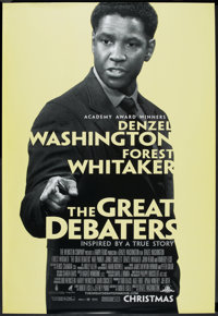 "The Great Debaters (MGM, 2007). Bus Shelter (48"" X 70"") SS. Historical Drama"