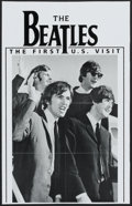 "Movie Posters:Rock and Roll, The Beatles--The First U.S. Visit (Vestron, 1990). Poster (22"" X34.5""). Rock and Roll.. ..."