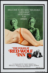 """Terror House (Scope III, 1972). One Sheet (27"""" X 41""""). Also Known As The Folks at Red Wolf Inn. Horror"""