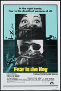 """Movie Posters:Thriller, Fear is the Key (Paramount, 1973). One Sheet (27"""" X 41"""").Thriller.. ..."""