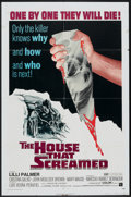 """Movie Posters:Horror, The House That Screamed (American International, 1971). One Sheet(27"""" X 41""""). Horror.. ..."""