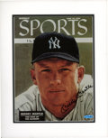 Autographs:Photos, Mickey Mantle UDA Signed Sports Illustrated Cover Photograph. ...