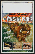 "Movie Posters:Documentary, The Vanishing Prairie (Buena Vista, 1954). Window Card (14"" X 22""). Documentary.. ..."