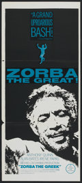 "Movie Posters:Drama, Zorba the Greek (20th Century Fox, 1964). Australian Daybill (13"" X30""). Drama.. ..."