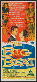 "Movie Posters:Rock and Roll, The Big Beat (Universal, 1958). Australian Daybill (13"" X 30"").Rock and Roll.. ..."