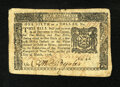 Colonial Notes:New York, New York March 5, 1776 $1/6 Very Fine....