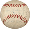 Autographs:Baseballs, 1938 Detroit Tigers Team Signed Baseball from Dixie Walker. ...