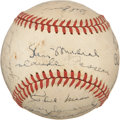 Autographs:Baseballs, 1946 National League All-Star Team Signed Baseball from DixieWalker. ...