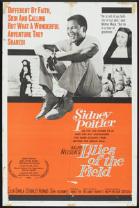 """Lilies of the Field (United Artists, 1963). One Sheet (27"""" X 41""""). Drama"""