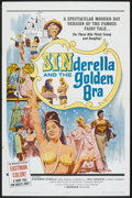 "Movie Posters:Comedy, Sinderella and the Golden Bra (Manson Distributing, 1964). OneSheet (27"" X 41""). Comedy.. ..."