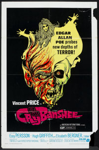 "Cry of the Banshee (American International, 1970). One Sheet (27"" X 41""). Horror"