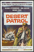 "Movie Posters:War, Desert Patrol (Universal International, 1962). One Sheet (27"" X41""). War.. ..."
