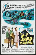"""Movie Posters:Comedy, The Spirit Is Willing (Paramount, 1967). One Sheet (27"""" X 41""""). Comedy.. ..."""