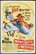 "Movie Posters:Comedy, Never Put It In Writing (Allied Artists, 1964). One Sheet (27"" X 41""). Comedy.. ..."