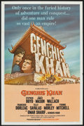 "Movie Posters:Adventure, Genghis Khan (Columbia, 1965). One Sheet (27"" X 41""). Adventure....."