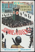 "Movie Posters:War, Square of Violence (MGM, 1962). One Sheet (27"" X 41""). War.. ..."