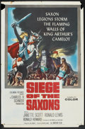 "Movie Posters:Adventure, Siege of the Saxons Lot (Columbia, 1963). One Sheet (2) (27"" X41""). Adventure.. ... (Total: 2 Items)"