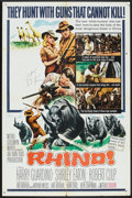 """Movie Posters:Adventure, Rhino! Lot (MGM, 1964). One Sheets (2) (27"""" X 41""""). Adventure.. ...(Total: 2 Items)"""