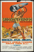 """Movie Posters:Action, Mighty Ursus (United Artists, 1962). One Sheet (27"""" X 41"""").Action.. ..."""