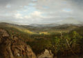 Fine Art - Painting, American:Antique  (Pre 1900), HENRY P. HUNT (American, 19th Century). The Overlook. Oil oncanvas. 24 x 34 inches (61.0 x 86.4 cm). ...