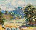 Fine Art - Painting, American:Modern  (1900 1949)  , CHRISTIAN VON SCHNEIDAU (American, 1893-1976). SouthernCalif, 1922. Oil on canvas. 20 x 24 inches (50.8 x 61.0 cm).Sig...