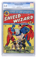 Golden Age (1938-1955):Superhero, Shield-Wizard Comics #1 (MLJ, 1940) CGC GD/VG 3.0 Off-white pages....