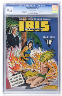 Ibis The Invincible #2 (Fawcett, 1943) CGC NM+ 9.6 Off-white pages