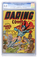 Golden Age (1938-1955):Superhero, Daring Mystery Comics #6 (Timely, 1940) CGC VG- 3.5 Off-white pages....