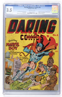 Daring Mystery Comics #6 (Timely, 1940) CGC VG- 3.5 Off-white pages