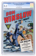 Don Winslow of the Navy #2 (Fawcett, 1943) CGC VF+ 8.5 Off-white to white pages