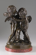 Sculpture, The Hon. Paul H. Buchanan, Jr. Collection. After ETIENNE-MAURICE FALCONET (French, 1716-1791). Cupid Fighting for Love...