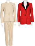 Movie/TV Memorabilia:Costumes, Dixie Carter Suit and Jacket by Louis Féraud.... (Total: 3 Items)