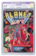 Golden Age (1938-1955):Science Fiction, Planet Comics #1 (Fiction House, 1940) CGC Apparent FN 6.0 Moderate(P) Cream to off-white pages....