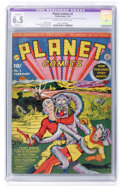 Golden Age (1938-1955):Science Fiction, Planet Comics #2 (Fiction House, 1940) CGC Apparent FN+ 6.5 Slight (P) Cream to off-white pages....