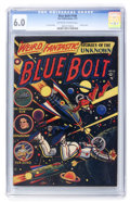 Golden Age (1938-1955):Science Fiction, Blue Bolt #108 (Star Publications, 1951) CGC FN 6.0 Off-white towhite pages....