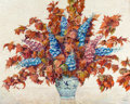 Fine Art - Painting, American:Modern  (1900 1949)  , MAX KUEHNE (American, 1880-1968). Autumn Still Life. Oil onartist's board. 30-1/4 x 38 inches (76.8 x 96.5 cm). Signed ...