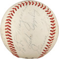 Autographs:Baseballs, 1939 All-Star Reunion Team Signed Baseball from Dixie Walker. ...