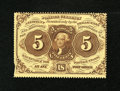 Fractional Currency:First Issue, Fr. 1229 5c First Issue New....