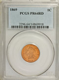 Proof Indian Cents: , 1869 1C PR64 Red PCGS. PCGS Population (23/17). NGC Census: (11/17). Mintage: 600. Numismedia Wsl. Price for NGC/PCGS coin ...