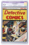Golden Age (1938-1955):Superhero, Detective Comics #18 (DC, 1938) CGC Apparent VG 4.0 Slight (A) Off-white to white pages....