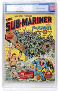Golden Age (1938-1955):Superhero, Sub-Mariner Comics #1 (Timely, 1941) CGC FN- 5.5 Slightly brittle pages....