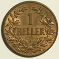 German East Africa, German East Africa: German Colonial - Selection of Bronze Types,... (Total: 6 coins)