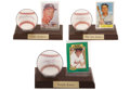 Autographs:Baseballs, Baseball Legends Single Signed Baseballs Lot Of 7....