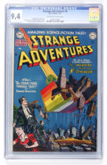 Golden Age (1938-1955):Science Fiction, Strange Adventures #4 (DC, 1951) CGC NM 9.4 Off-white to whitepages....