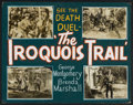 """Movie Posters:Western, The Iroquois Trail (United Artists, 1950). Lobby Display (22"""" X28""""). Western.. ..."""